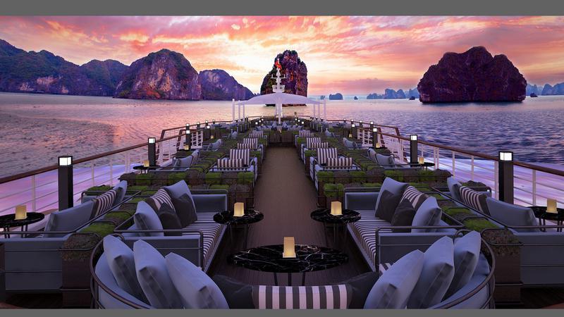 Tour nghỉ dưỡng du thuyền Paradise Grand 5 sao ngắm vịnh Lan Hạ + 3 bữa ăn cực ngon + chèo Kayak chỉ 2.899.000 VND