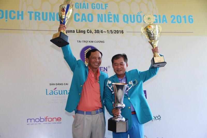 Giải Vô địch golf Trung niên Quốc gia khởi tranh cuối tuần