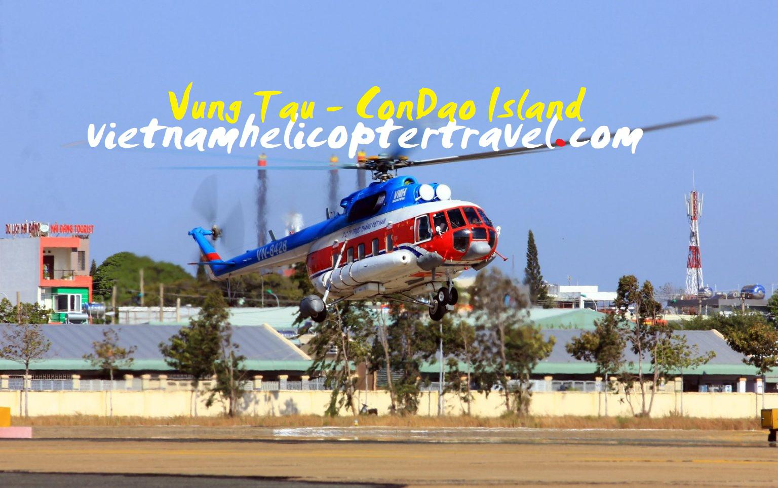 Lịch bay trực thăng Vũng Tàu đi Côn Đảo tháng 5-2021
