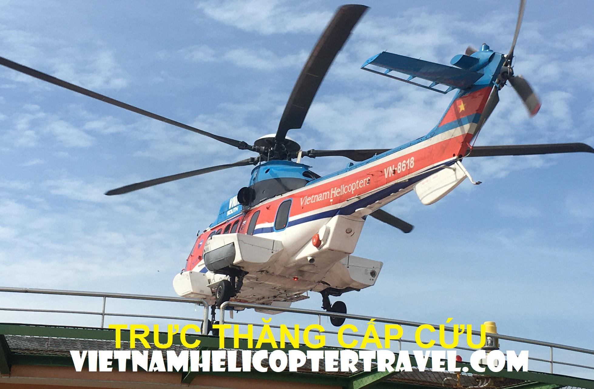 Cho thuê trực thăng cấp cứu khẩn cấp giá ưu đãi