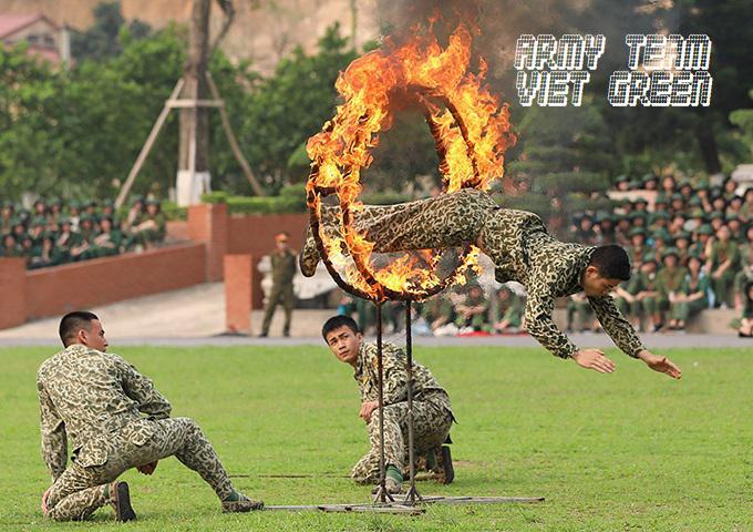 Team building quân đội: Hoạt động Rèn luyện tinh thần chiến binh doanh nghiệp mạnh
