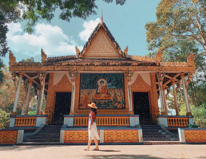 Ngỡ ngàng trước vẻ đẹp cổ hơn 400 năm của chùa Dơi Sóc Trăng