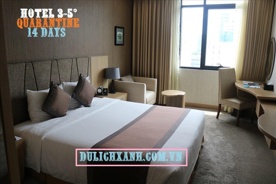 Combo khách sạn cách ly 14 ngày tại Hồ Chí Minh giá siêu rẻ tháng 5 - 2021