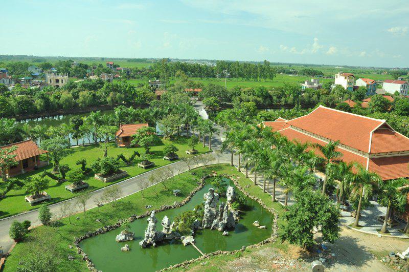 Hoàng Long Resort- Hà Nội- địa điểm Teambuilding tuyệt đẹp