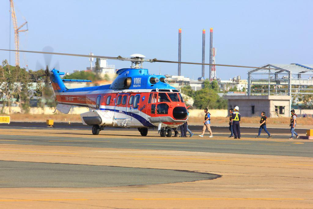 Tour bay trực thăng cuối tuần Vũng Tàu - Côn Đảo 60 phút
