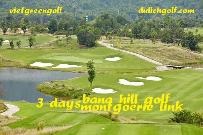 Tour Golf Đà Nẵng: sân Đà Nẵng Montgomerie Links - Bà Nà Hills Golf Club - Sơn Trà 3 Ngày